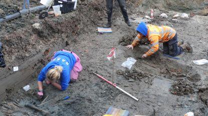 Menselijke resten gevonden onder speelplaats Sint-Theresia