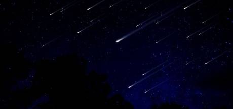 Deze zomer geen vallende sterren gezien? Vannacht wel!