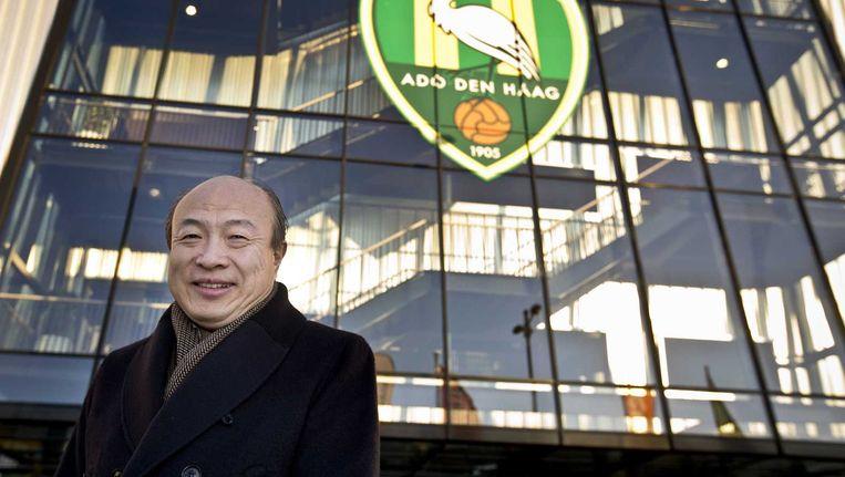 Wang Hui, eigenaar van voetbalclub ADO Den Haag, op archiefbeeld. Beeld anp