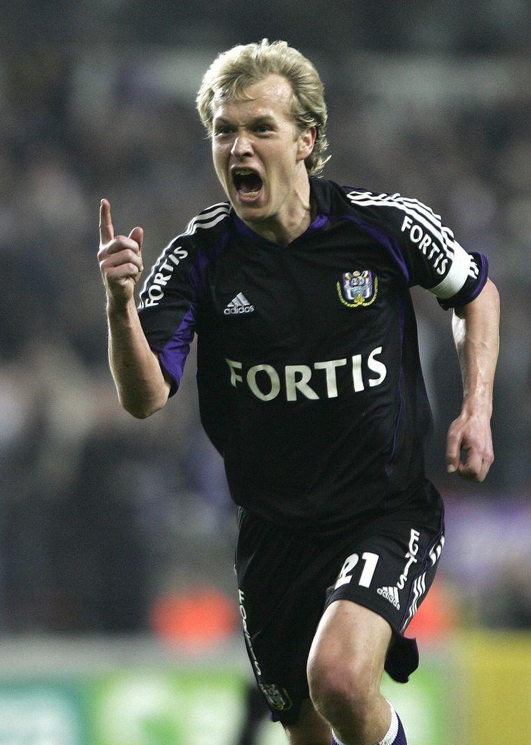 Zetterberg beleefde mooie jaren bij Anderlecht.