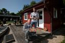 Jeroen Akkermans (r) en zijn broer Robbert