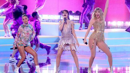 AMA's werden de Taylor Swift show: zangeres verbreekt record van Michael Jackson en zingt haar 'verboden' liedjes