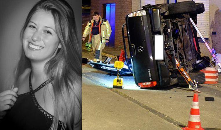 Charlotte Gysel (18) uit Koekelare overleed vrijdagavond door een onnoemelijk zwaar ongeval in Kortemark.