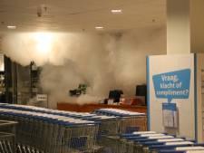 Hulpdiensten lopen tegen muur van mist op in Rijswijk