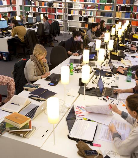 Maat is vol voor Universiteitsbibliotheek: rellende en schreeuwende scholieren in de ban