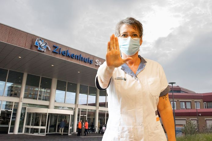 Ziekenhuis St Jansdal met vestigingen in Harderwijk (foto) en Lelystad, begint op social media een campagne tegen (verbale) agressie in het ziekenhuis