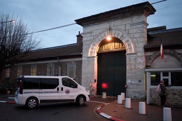 Archiefbeeld - De ingang van de gevangenis van Fresnes.