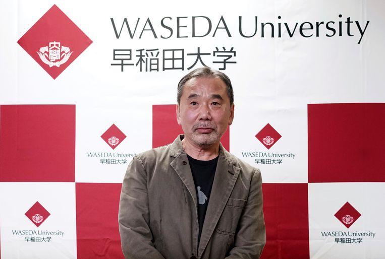 De persconferentie van Murakami was de eerste in 37 jaar.