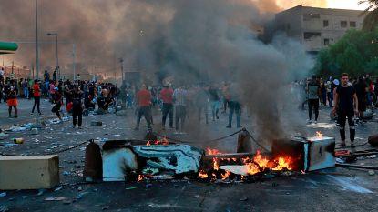 Spontaan protest Bagdad groeit aan, veiligheidsdiensten schieten op manifestanten
