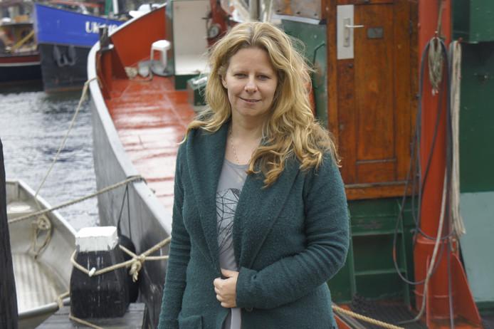 Anja Keuter, fractievoorzitter van Gemeentebelangen Urk.