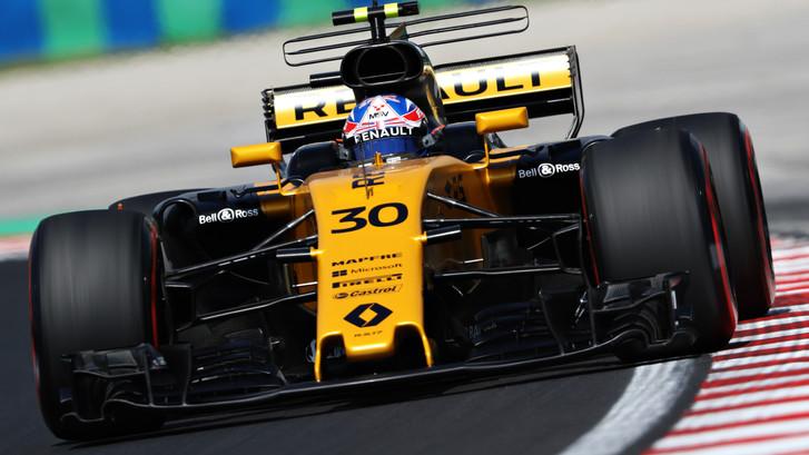 Jolyon Palmer zorgt voor derde rode vlag van GP-weekend