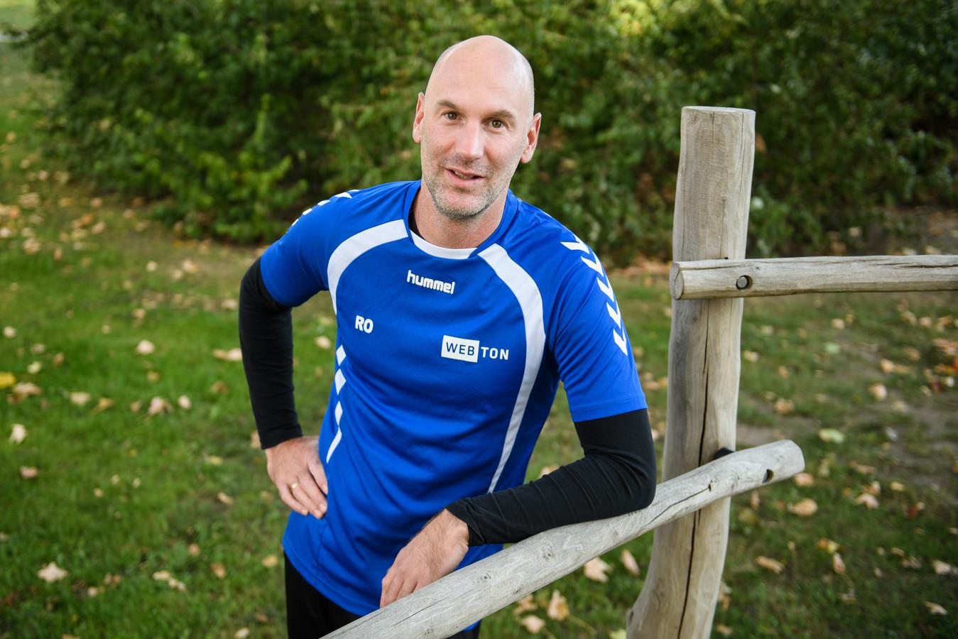 Rinke Olthof is begonnen aan zijn tweede periode als trainer bij Webton.