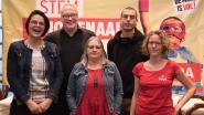 Peter Mertens stelt Kempense PVDA-kandidaten voor in Geel