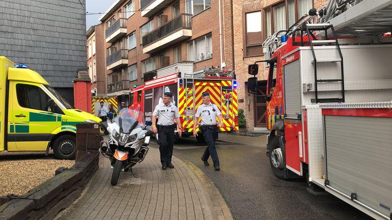 Niemand raakte bij het incident gewond