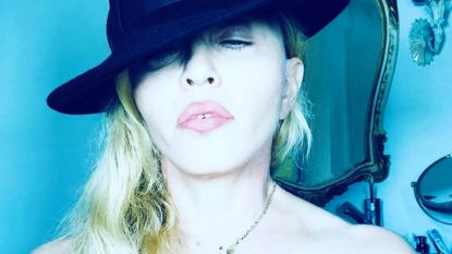 Madonna alweer onder vuur voor topless foto