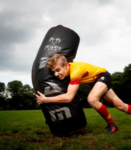 Van der Horst is stapelverliefd op 'verboden' sport