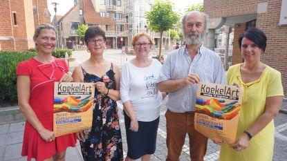 Tweede editie 'KoekelArt' ziet het groots, Derek & Place Musette zorgen voor feestelijke toets