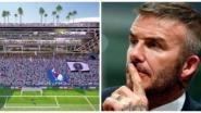 David Beckham laat stadion bouwen van 860 miljoen euro, palmbomen en cocktail-bars op het dak inbegrepen