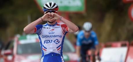 Gaudu wint loodzware bergrit zonder spektakel, Roglic blijft probleemloos leider