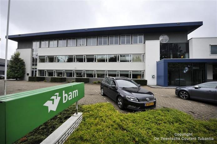 Kantoorpand van de BAM in Ootmarsum