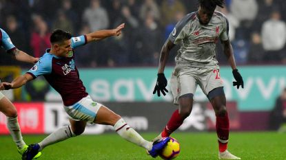 Burnley maakt het Liverpool één uur knap lastig, assist Origi luidt ommekeer in
