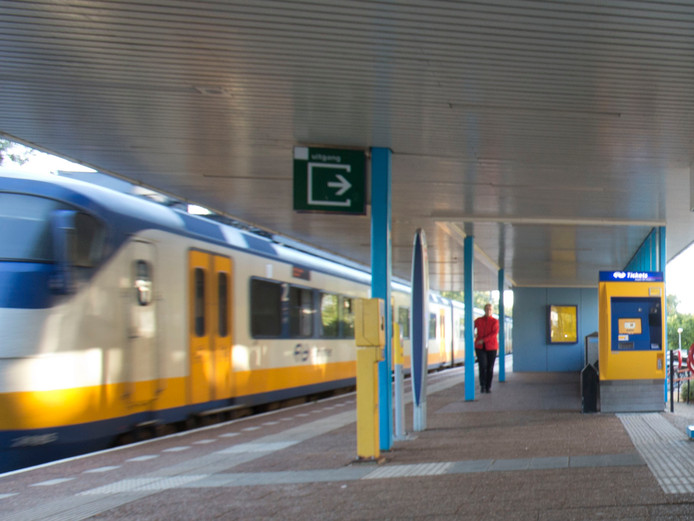 Station Veenendaal.