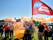 Acties bij metaalbedrijven voor 3,5 procent meer loon
