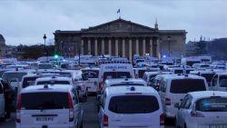 Opnieuw protest in Parijs: ambulanciers blokkeren Place de la Concorde