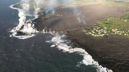 Nieuwe kustlijn Hawaï doemt op tussen de lavadampen, maar wie is eigenaar van die nieuwe grond?
