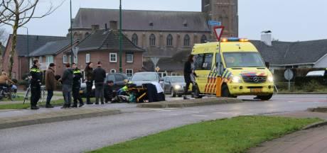 Fietser gewond door botsing met auto op Beerseweg