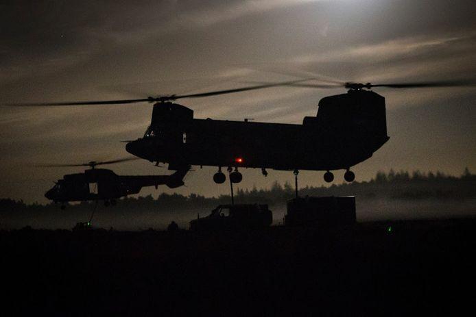 Er wordt door Defensie te weinig rekening gehouden met de trillingen door zware Chinooks, zeggen bezwaarmakers.