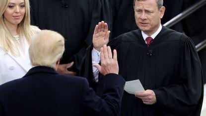 Ongeziene clash tussen allerhoogste rechter VS en Trump over onafhankelijkheid justitie