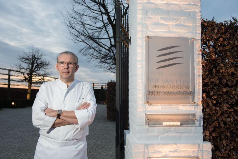 Peter Goossens, chef van sterrenrestaurant Hof van Cleve
