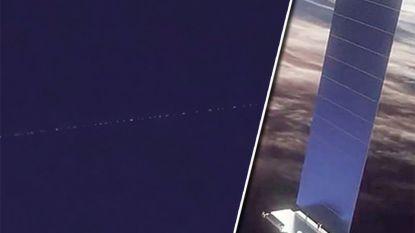 """Vlaanderen laaiend enthousiast over satelliettrein van Musk: """"Alsof de Kerstman voorbij kwam gevlogen"""""""
