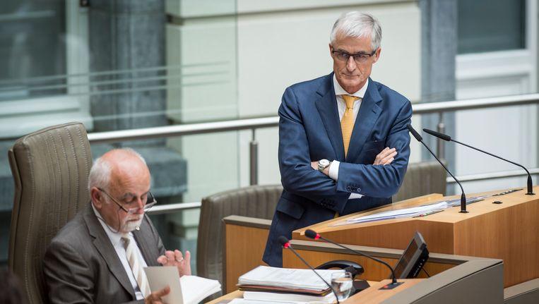 Het leek wel alsof de speeches van Jan Peumans en Geert Bourgeois op mekaar waren afgestemd.