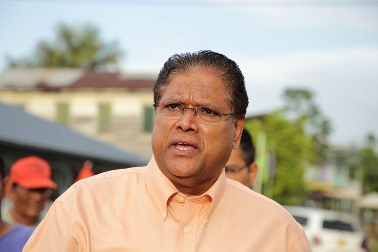 Chan Santokhi is naar voren geschoven om de nieuwe president van Suriname te worden. Beeld ANP