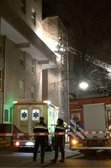 Meerdere gewonden bij brand in flat Rotterdam