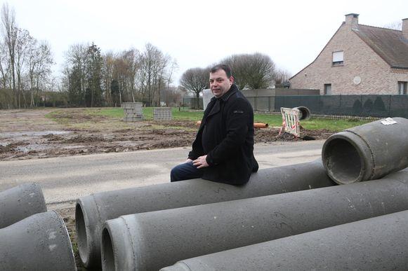 Schepen van openbare werken en milieu Kris Vanwinkelen