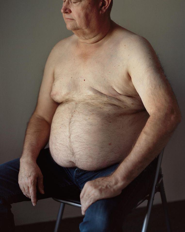 Michel Wegerif: 'Ik vond een nieuwe borst niet nodig, die kanker moest eruit' Beeld Maarten Boswijk