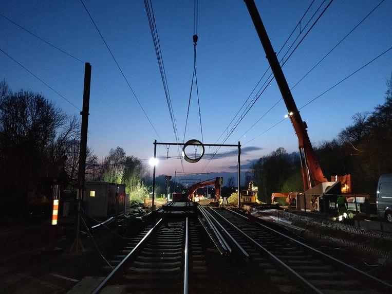 Kristof Papeleu voert voornamelijk spoorwerken uit.