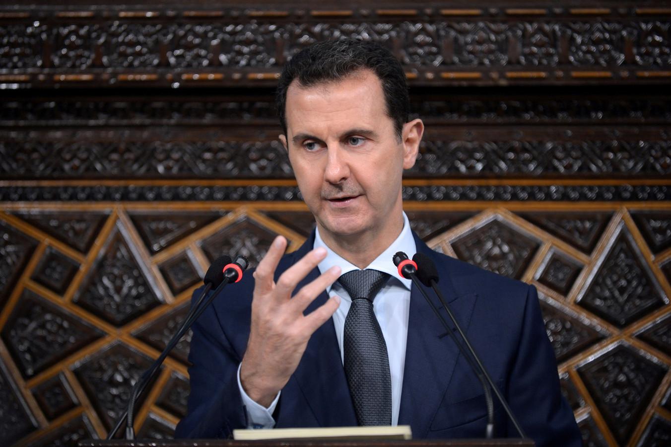 De Syrische president Bashar al-Assad.