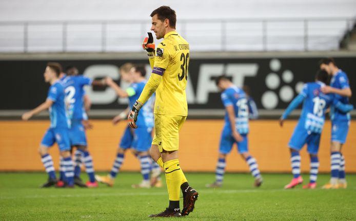 Absent au Beerschot en raison d'une blessure à la main, Hendrik Van Crombrugge est toujours incertain pour le Clasico de dimanche.