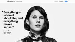 """Belgische Laure De Mey is gezicht Apple-campagne: """"Ik moet me als zeldzame vrouw in de sector nog te vaak bewijzen"""""""