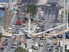 'Vlak voor instorten voetgangersbrug nog overleg over barst'