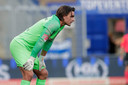Ruud Swinkels tijdens FC Den Bosch - FC Eindhoven.