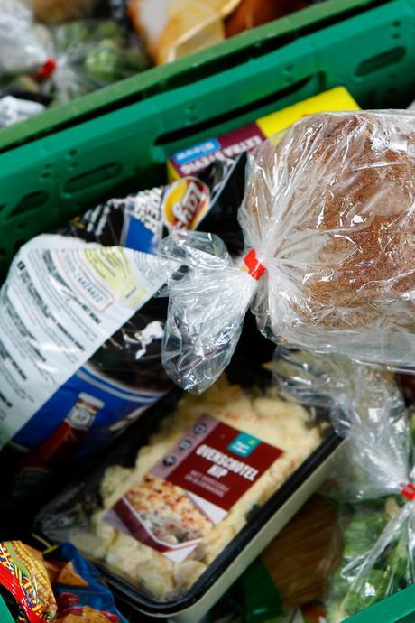 Voedselbank wordt kleine supermarkt