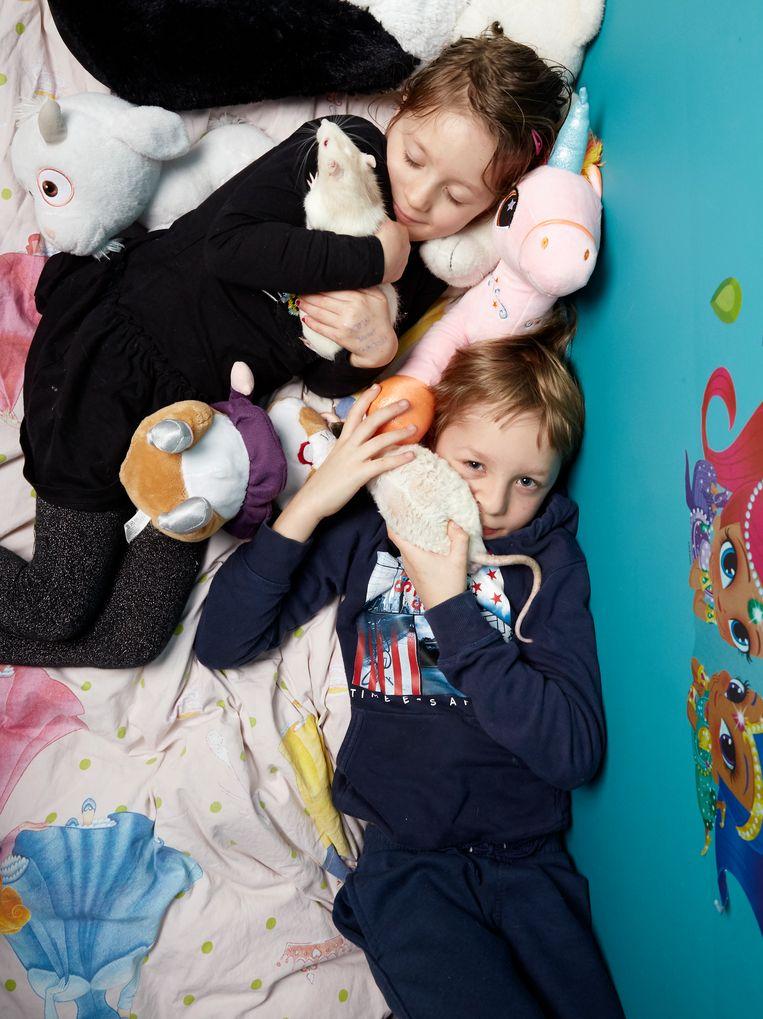Lizza en Snuitje (1). Tamme ratten, De Banne Beeld Isabella Rozendaal