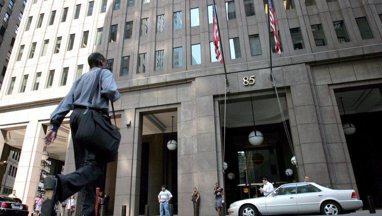 Het hoofdkantoor van Goldman Sachs in New York. Foto EPA Beeld