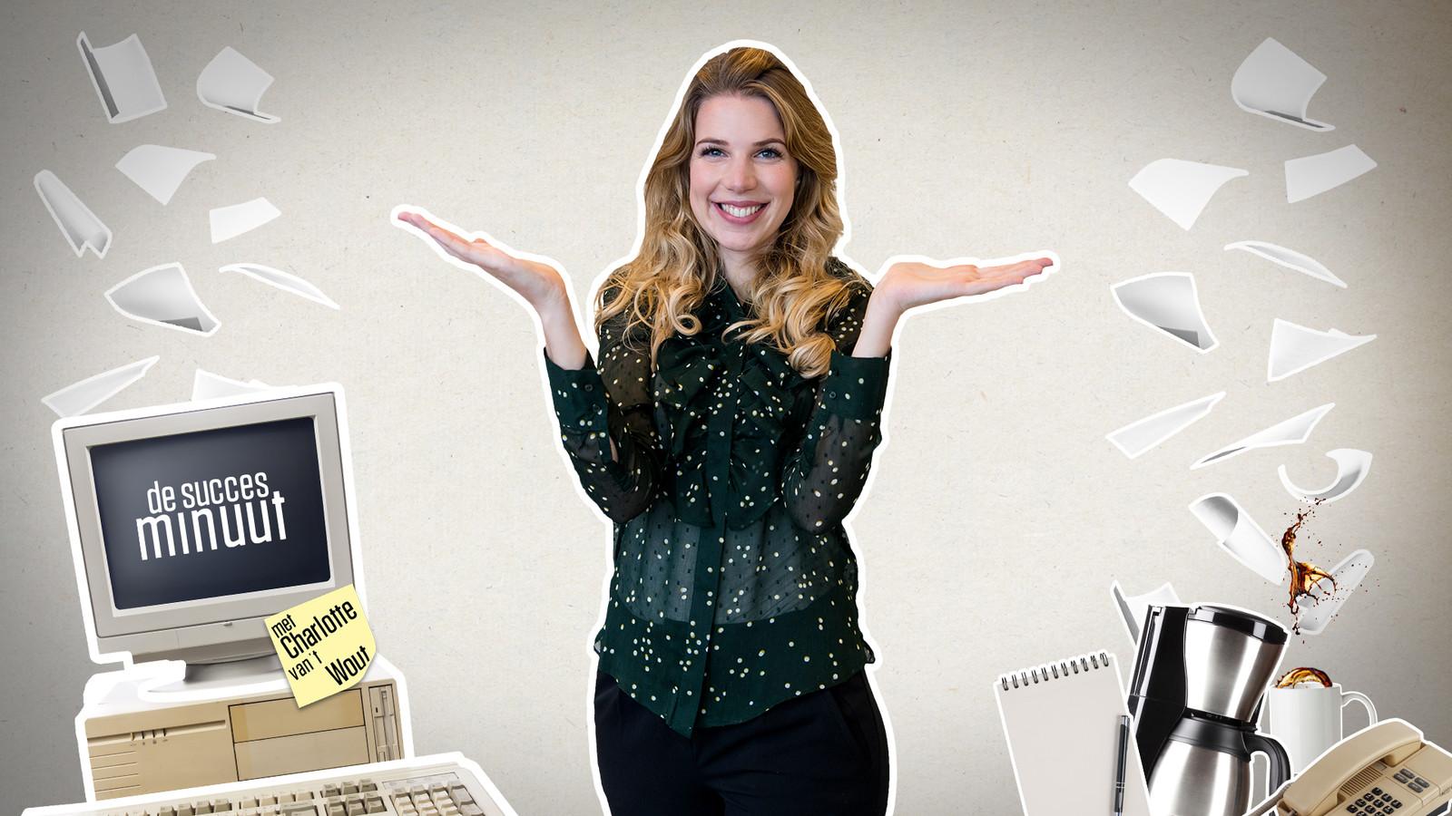 Columnist Charlotte van 't Wout.