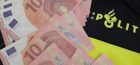 Nietsvermoedende Tilburger ontvangt pakketje met vals geld, politie achterhaalt boeman